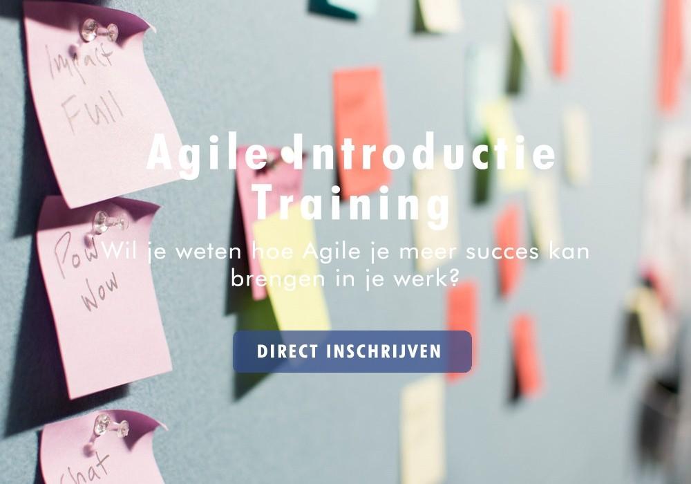 agile introductie training